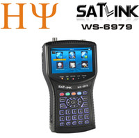 Satlink WS-6979 Satellite Finder numérique DVB-S2 DVB-T2 Combo spectre Finder satellite WS6979 terrestre Finder satellite