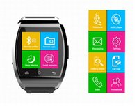 Montre-bracelet Bluetooth Smart Watch U10 pro U pour iPhone 6/4 / 4S / 5 / 5S Samsung S5 / S4 / Note 3 HTC Android Phone Smartphones prix d'usine DHL