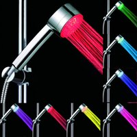 Wholesale Best Led Shower Heads - Best Rainfall Shower Heads Fashion LED Shower Heads Bath Room Colorful LED Shower Head for Sale LD8008-A12 without color box