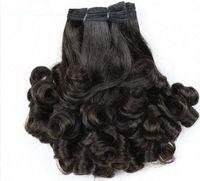malezya funmi saç toptan satış-Üst Sınıf funmi saç 8-30 inç çift çizilmiş 3 adet ucuz bakire saç ücretsiz kargo Hint Perulu Malezya Bakire brezilyalı Saç Örgüleri