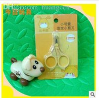 Wholesale-2015 New China Marke Senior Baby Fingerscheren Baby Nagelknipser mit kleinen Mantel Schere Sicherheit Schere