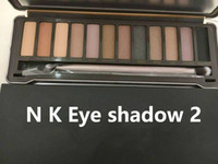 Wholesale Naked Eye Make Up - N K E Dmakeup eyeshadow palettes eye shadow pallet 12 color NKED 1.2.3.5 decay Makeup naked Palettes chocolate with Make up Free Shipping