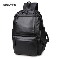 Wholesale two coloured dresses for sale - Group buy The new men s Leather Shoulder Bag Large retro male bag solid Backpack black and brown two colour