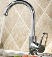 Wholesale Cheap Kitchen Sinks Faucets - Wholesale-cheap kitchen mixert tap rotatable spout sink faucet water tap hot and cold deck mounted