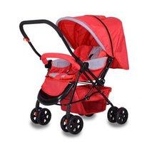 Wholesale Lightweight Travel Strollers - Lightweight Travel Strollers Small Size,Trolley for Baby,Reversible Baby Stroller,Portable Pushchair for Newborn Children Sale