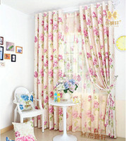 Wholesale Window Curtains Panels Blue - Blue Luxury Window Curtain For living Room  Bedroom Blackout Curtains Window Drape  Panels Treatment Home Decor