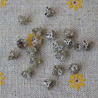 bouchons à sertir achat en gros de-glands glands perles sertissage embouts entretoise cordon texturé connecteur sac art conclusions de boucle d'oreille fermoirs charms filigrane fabrication de bijoux