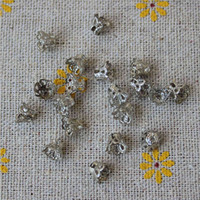 Wholesale Cord Ends Caps Crimp - tassel caps Beads crimp End caps spacer cord Textured connector bag art earring findings Clasps Filigree charms jewelry making