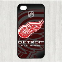 Wholesale Iphone 4s Wings Case - Detroit Red Wings cell phone case for iPhone 4s 5s 5c 6 6s Plus ipod touch 4 5 6 Samsung Galaxy s2 s3 s4 s5 mini s6 edge plus Note 2 3 4 5
