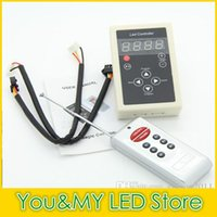 6803 Contrôleur RF 8Key Controller 133 Programmes pour LPD6803 Bande Dream Color Magic Strip 5050 RGB SMD Light DC12V