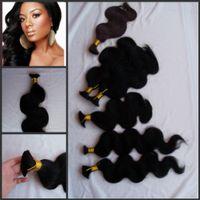 Wholesale Virign Peruvian Hair - G-EASY bulk hair for lady,brading hair no weft,no short hair,full end virign human hair bulk