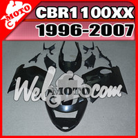 Wholesale honda blackbird - In Stock Welmotocom Injection Mold Unpainted(Unpolished) Fairings For Honda CBR1100XX CBR 1100 XX Blackbird 1996-2007 96-07 H11W00