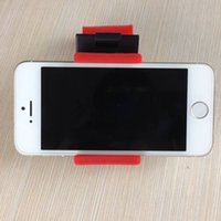 Wholesale Iphone Holder Belt Clip - Universal Car Steering Wheel Belt Clip Mount Phone Socket Holder For iPhone 6 4S 5 5S Galaxy S6 5 4 Note 4 3 A5 Z3 T3 Cell Phones