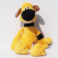 Wholesale Toy Yellow Sheep - Shaun the Sheep Bitzer Gog Stuffed Animals Plush Toys Stuffed Doll Soft Baby Toy 10inch 25cm Free Shipping