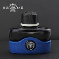 Wholesale Duke Fountain Pens - Wholesale-100% Original Germany DUKE 80Ml Bottle Fountain Pen Ink, Intense Black Non Carbon Color No blocking Fit for all brand pens