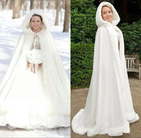 f759a3fd5d3 Wholesale plus size faux fur bridal cape for sale - Plus size Winter Bridal  Shawls Jackets