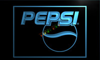 Wholesale Neon Drinks - LE023-TM Pepsi Cola Logo Drink Decor Neon Light Sign.