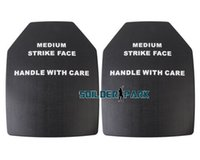 Wholesale Military Dummy - 2pcs lot Airsoft Tactical Military SAPI Dummy Ballistic Plate Set Black Outdoor Hunting Combat Protect Plate Free Shipping order<$18no track