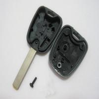 citroen c4 için kilit durum toptan satış-Citroen C4 C3 için yeni Uzaktan Anahtar Durumda Xsara Picasso Fob 2 Düğmeler Ücretsiz Nakliye