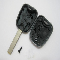 caso clave para citroen c4 al por mayor-Nuevo caso de llave remota para Citroen C4 C3 Xsara Picasso Fob 2 botones envío gratis
