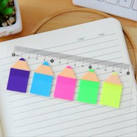 1 Piece Lytwtw's New Cute Candy Color Pencil Sticky Notes Kawaii Post It Notepad Filofax Memo Pads Office School DIY Канцелярские товары