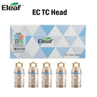 Wholesale Fit Temperature - Authentic Eleaf ijust2 TC Coils EC 0.15ohm 0.5ohm Temperature Control Replacement Electronic Cigarettes Coil Head Fit Ijust 2 Atomizer Kit