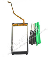 Wholesale Atrix Digitizer - Wholesale-Replacement Touch Screen Digitizer Lens for Motorola Atrix HD MB886 Black+Tools