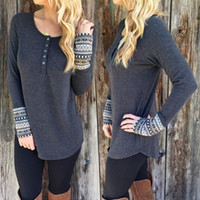 Wholesale Knitted Tunic Dress - Autumn Spring New Sexy Ladies Womens Jumper Mini Dress Long Sleeve Knitted Sweater Tunic Top Size S-XL