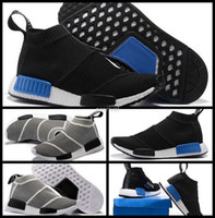 NMD Runner PK City Sock S79152 Uomo Donna Classic Running Shoes Moda Primeknit nmd Grigio Nero Sport Sneakers Stivali Trainers 36-44