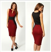 Wholesale Cheap Celebrity Bodycon Dresses - Hot Cheap Women Work Casual Dresses Summer Ladies' Office Casual Bodycon Celebrity Dress Pencil Party Short Prom Dresses