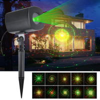 Wholesale green dynamics - Christmas decoration Red & Green Galaxy Dynamic Lighting Projector Light Waterproof Star Laser Projector Show for Garden Party Landscape