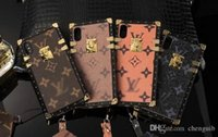 Wholesale Iphone Cases Print - For iPhoneX Luxury brand English letter printing phone case TPU soft cover for iPhone7 6 6S 8 8plus