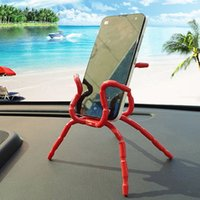 Atacado Price Price Spider Phone Holder Flexible Desktop Tablet Celular Spider Shape Stand Holder Frete Grátis