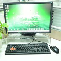 monitorización del teclado al por mayor-Soporte de monitor de acrílico para regalo de Navidad de 20