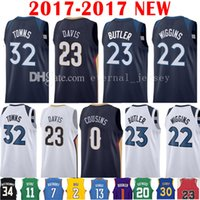 Wholesale 32 Shorts - 2017-18 New 23 Jimmy Butler 22 Andrew Wiggins 32 Karl-Anthony Towns Jersey 2018 Men's 0 DeMarcus Cousins 23 Anthony Davis Jerseys