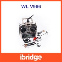 Post di Singapore ! WLtoys V966 Power Star 1 RC 2.4G elicottero giocattoli di telecomando 3D 6CH Flybarless 6 Axis Gyro RC