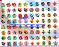 Wholesale Sticker Sheets Girls - Wholesale 24 sheets 1344 pairs OF GIRL STICK ON EARRINGS Snow White stickers stick-on ring stickers