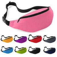 Wholesale Travel Pouch Money Waist Belt - Unisex Waist Belt Bag Travel Sports Hiking Running Fanny Pack Black Zip Pouch Money Pouch Belt Waist Pack