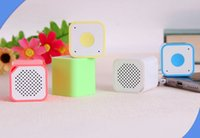 Livre DHL Mini Square Bluetooth Speaker Smart Box Portable Exterior Bluetooth Soundbox Handfree