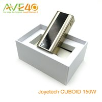 Wholesale Evic Best Mod - Joyetech Cuboid 150w Mod Temp- SS316 Mode 150w Big Out Put Best Matching with Joyetech Cubis Tank VS Evic VTC Mini with Cubis