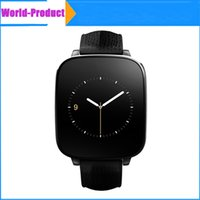 Wholesale 3d Watch Crystals Wholesale - Zeblaze Crystal Curved ip65 Smart Watch with 3D HD Screen L10 MTK2502 HRM Real Heart rate Genuine Leather Strap For iOS Android 010246