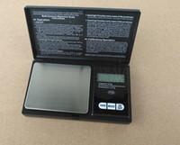 ingrosso luce di mini dimensioni ha condotto-Nuova Mini Digital Scala 100 g / 200 g x 0.01 g Gioielli moneta Gram Pocket portatile con retroilluminazione a LED