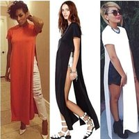 Wholesale Women Wholesale Slit Skirt - Maikun Foreign trade explosion models in Europe and America fashion sexy party dress slit skirt strap factory direct