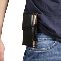 Wholesale Pouch Sleeve Galaxy S3 - Universal Clip belt Holster Hasp Leather Pouch Sleeve Case Bag For iPhone 6 7 Plus 6S SE 5 5S 4G Samsung Galaxy S7 S6 Edge S3 S5 Note 5 3 4