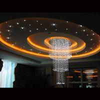 Wholesale Pool Lights Fiber Optic - Wholesale-Luxury pool lighting wall fiber optic chandelier 2-year warranty illuminati ik sauna optical fiber projector
