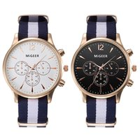 Wholesale Buy For Men Wholesale - Wholesale-Gifts For Men Luxury Fashion Vintage Canvas Mens Analog Wrist Watch Watches Hot Sale Buy Direct From China
