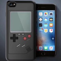 Wholesale Game Phone Cases - Retro Game Consoles Phone Back Game case TPU for iPhone 6 7 8 Cover Protective Shell Black White