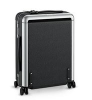 Wholesale Leather Rolling Men - Men Real Taiiga Calf Leather Rolling Luggage Black