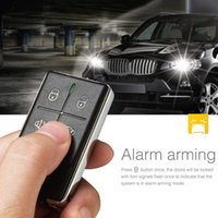 Wholesale Trunk Release Car Alarm System - Steelmate 838N 1 Way Car Alarm System Match Central Locking Window Closer Remote Trunk Release with Carbon Fiber Transmitter