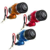 Wholesale GPS V Colorful Car Motorcycle Motorbike Power Socket Plug Outlet Cigarette Lighter